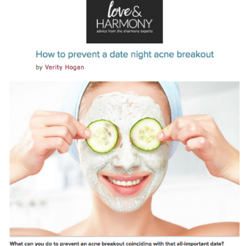 How to prevent a date night acne breakout
