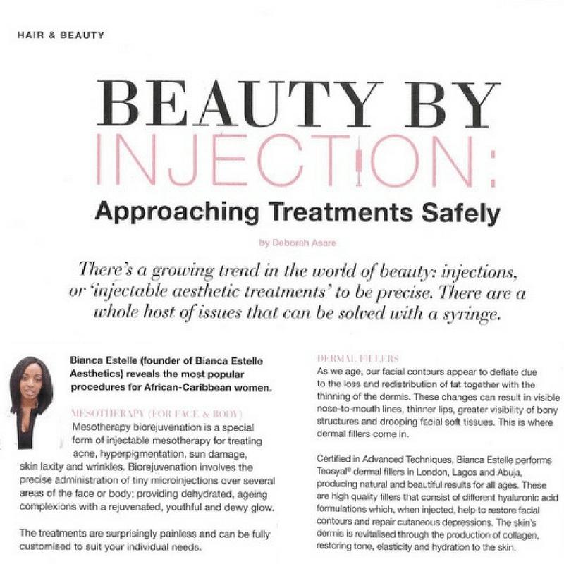 beaSkinClinic Press&Media Beautybyinjection