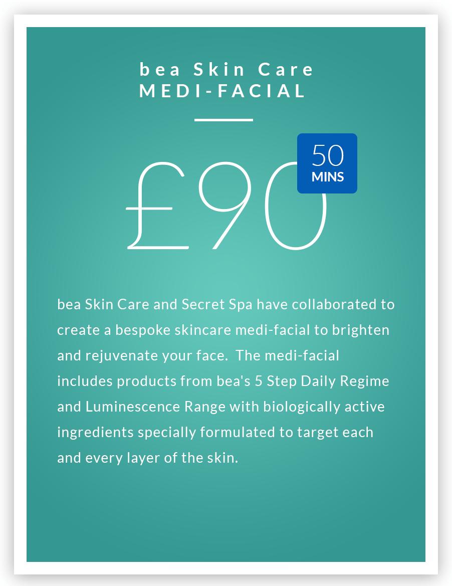bea Skin Care's Medi Facials