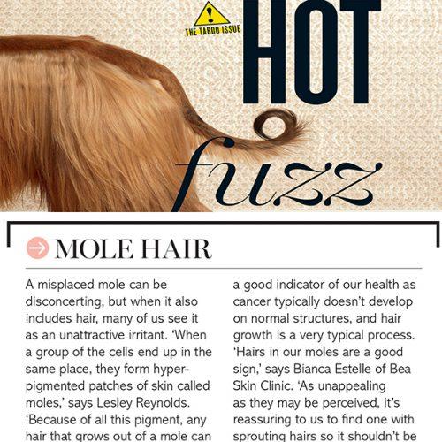 HOT FUZZ - MOLE HAIR